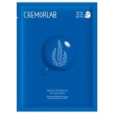 cremorlab marine hyaluronic face mask